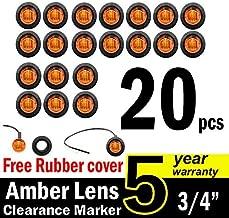 amber led trailer marker lights