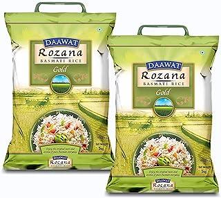 Daawat Rozana Gold Basmati Rice, 5 Kg + 5 Kg - Combo Pack