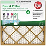 Rheem 16 in. x 25 in. Basic Household Pleated Air Filter, Case of 12