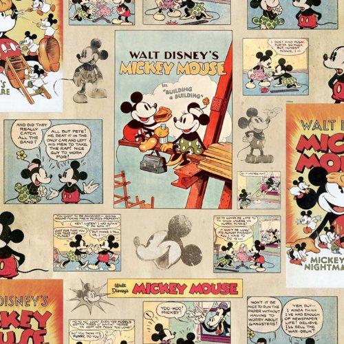 Disney - Papel pintado, diseño de Mickey