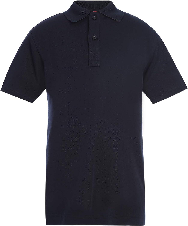 Tommy Hilfiger Kids' Short Sleeve Performance Co-ed Polo Shirt, Boys & Girls School Uniform Clothes