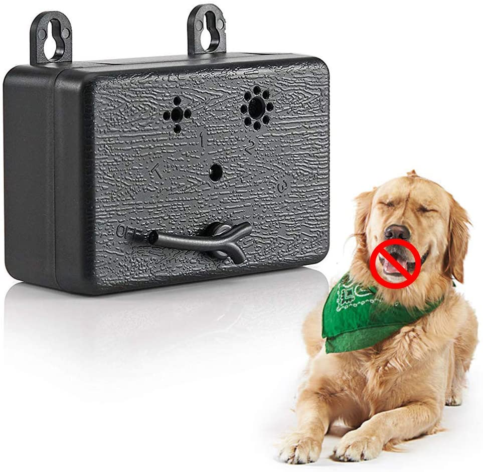 PUPWE Dog Barking Control Devices Max 83% OFF Mini Long-awaited Outd Bark Device