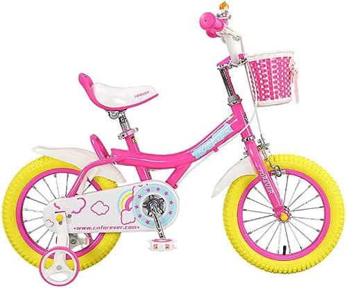 tienda en linea DT Bicicleta para Niños de 12 Pulgadas Carrito de de de bebé 3-5-6-8 años hombres y mujeres Coche de bebé Pedal de Bicicleta para Niño  grandes precios de descuento