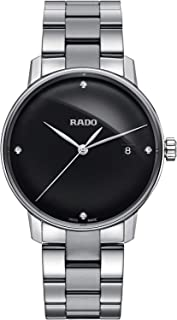 Rado Coupole Black Analog Watch for Men R22864702