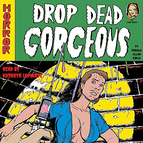 Drop Dead Gorgeous audiobook cover art