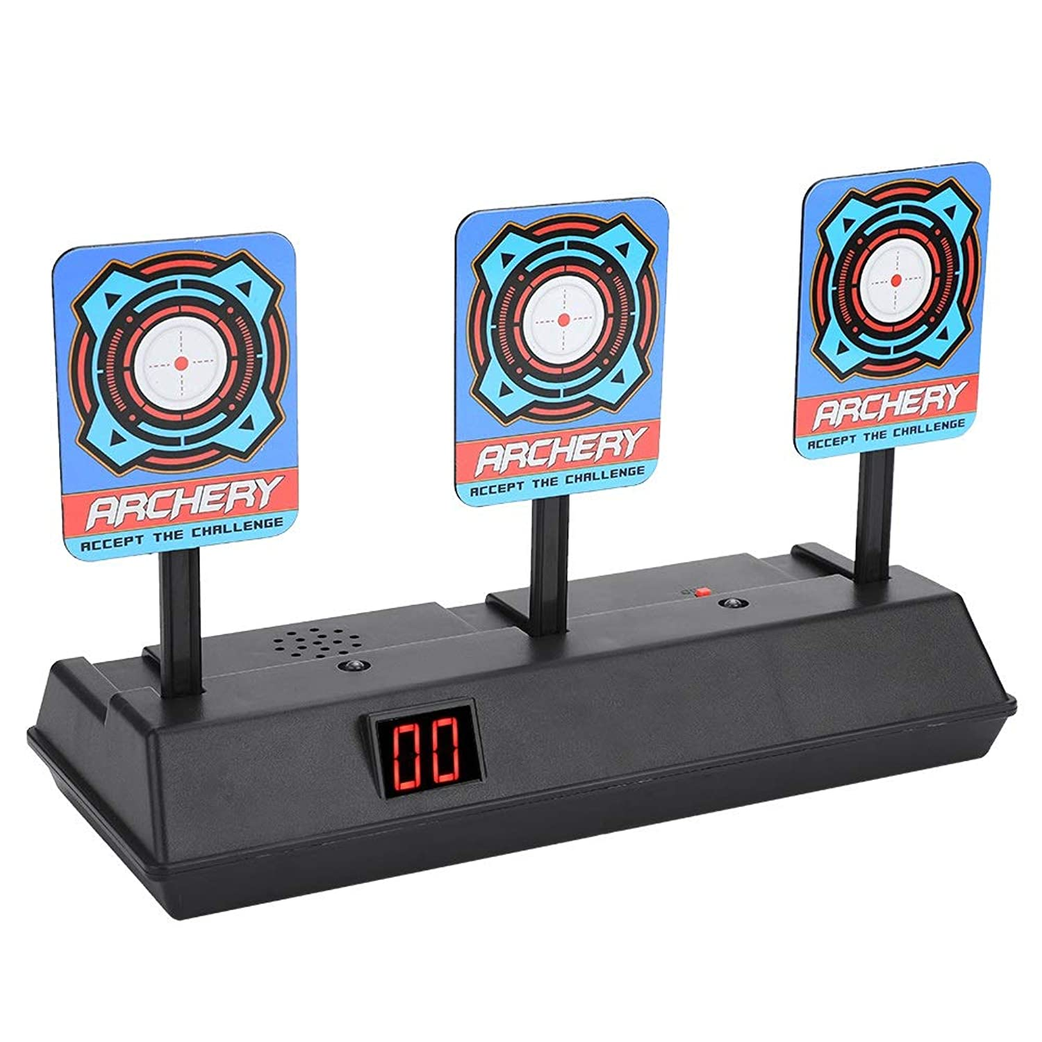 Dewin Electric Target Toy Gun Electric Score Target Automatic Restore Accessory, for Soft Bullet Gun Toy uxoemw1893353