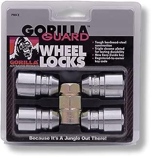 Gorilla Automotive 61641 Acorn Gorilla Guard Locks (14mm x 1.50 Thread Size) - Set of 4