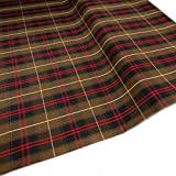 School Plaid Fabric, 100% Polyester, 60 Inches Wide, Over 100 Yards in Stock - 5 Yards - Multiple Colors - for School Uniforms and Garments