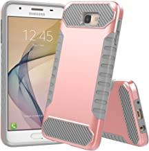Galaxy On5 2016 Case,Galaxy J5 Prime Case, JDBRUIAN [Shock Absorption] Hybrid Dual Layer Armor Protective Case Cover for Samsung Galaxy On5 2016/J5 Prime/G570 - Rose Gold & Gray