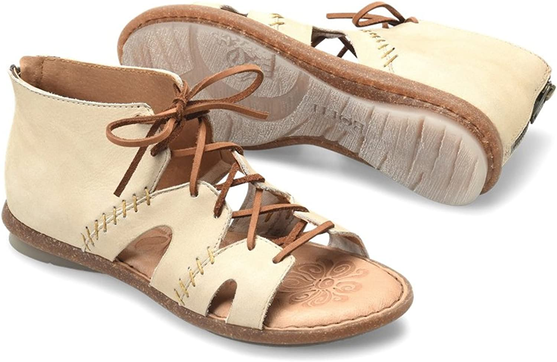B.O.C. Womens NEA Nubuck Open Toe Casual Gladiator Sandals, Puff Nubuck, Size 6.0