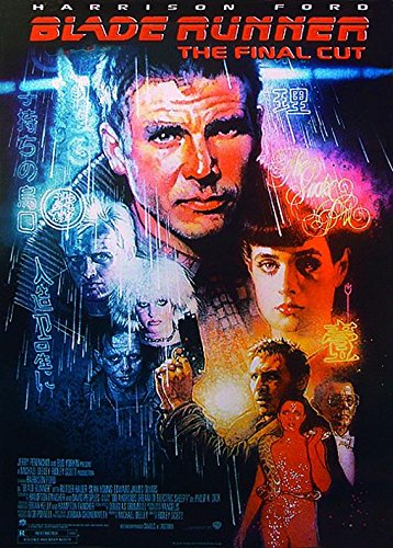 Close Up Blade Runner Poster The Final Cut (68cm x 98cm) + Ü-Poster