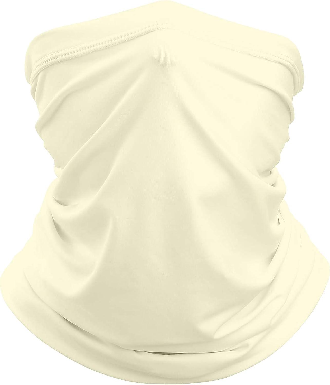 Neck Gaiter Face Mask Balaclava Neckerchief Bandanna Headband Multi Functional