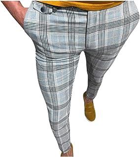 Xmiral Pantaloni Uomo Lunghi Cargo Coulisse Tasche Laterali Trousers della Sport Elastici Maschi