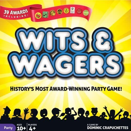 mejor moda WITS AND WAGERS PARTY GAME - JEU (VERSION ANGLAISE) ANGLAISE) ANGLAISE) by North Star Games  servicio de primera clase