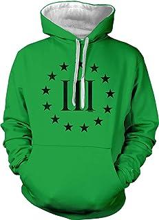 Tcombo Three Percenter Logo - Threeper Protest Unisex Hoodie Sweatshirt