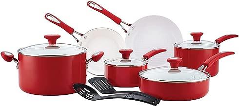 12 Piece Premium Cookware Set Nonstick Ceremic Non-Toxic PFOA-, PTFE- and cadmium-free