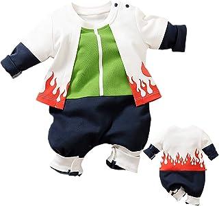 IURNXB Mono para bebé recién Nacido de Manga Corta con diseño de Dibujos Animados para niños y niñas