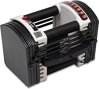FIELDOOR 可変式 クイックダンベル/ブロックダンベル 40.5kg 最小3kgから最大40.5kg アジャスタブルダンベル 簡単重量変更 27段階調節 コンパクト