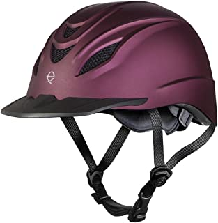 TROXEL INTREPID Mulberry Horse Riding Helmet ♦ Ultralight Low Profile Performance Adjustable
