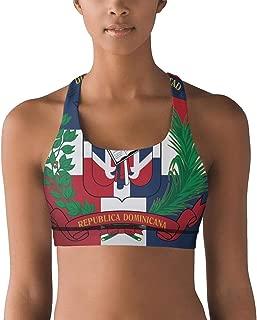JECIA HOLDER Womens Gym Vest American Flag Pot Leaf Yoga Bra Tank Tops