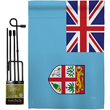 Amazon Com Breeze Decor Gs108166 Bo Alberta Flags Of The World Canada Provinces Impressions Decorative Vertical 13 X 18 5 Double Sided Garden Flag Set Metal Pole Hardware Garden Outdoor