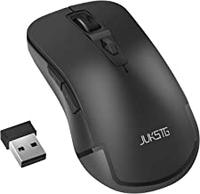 Wireless Mouse, JUKSTG 2.4G Ergonomic Durable Mice With 6