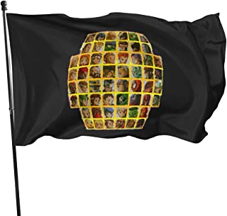 Marvel Vs Capcom 2 Roster Polyester Flag, Banner Flags