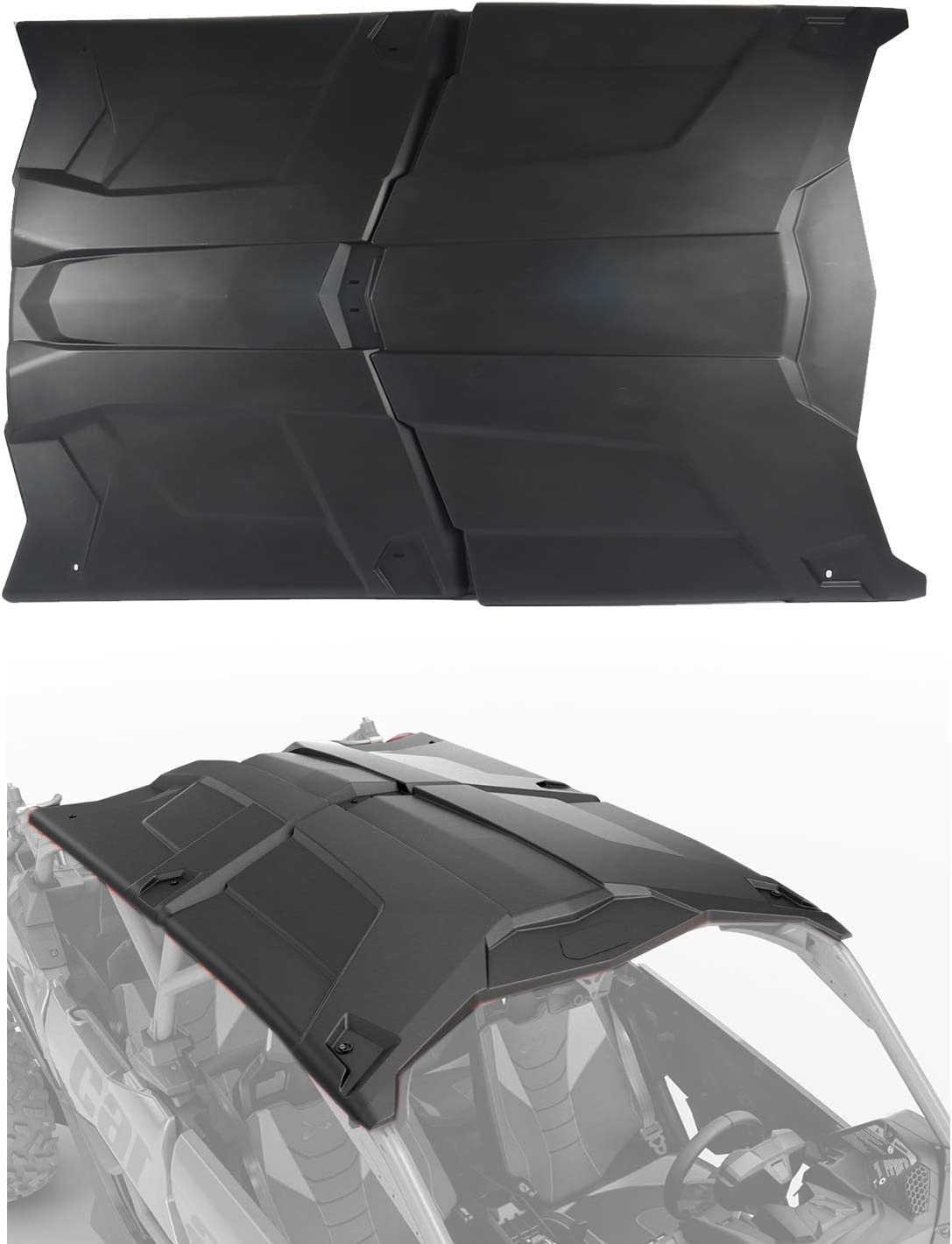 OWCAS UTV Hard Sport Roof Cover for 2017 2018 2019 2020 2021 Can Am Maverick X3 MAX 4 Door / 4 Seater