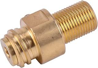 LETAOSK M18x1.5 Inlet Thread Tank dapter Refill CO2 Pin Valve for Soda Stream