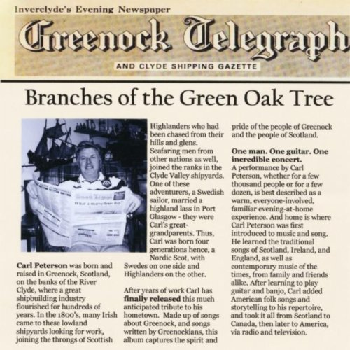 Branches of the Green Oak Tree
