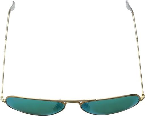Matte Gold/Green Mirror Polar