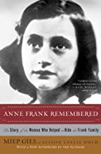 [Paperback] [Miep Gies] Anne Frank Remembered: The Story of The Woman Who Helped to Hide The Frank Family