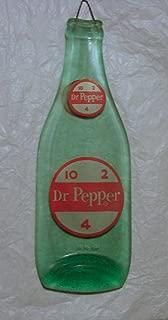 Vintage Dr Pepper 10 2 4 Logo Soda Slumped 10 oz Bottle Spoon Rest Cutting Board