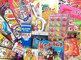 "GIFT Japanese Snack Assortment 40 pcs of 32 Types Full of""DAGASHI"", OHIMESAMA Snack Selection (L)"