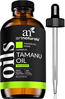 ArtNaturals 100% Pure Extra Virgin Tamanu Oil (4 Fl Oz / 120ml) Natural - Cold Pressed - for Skin, Face, Ha...