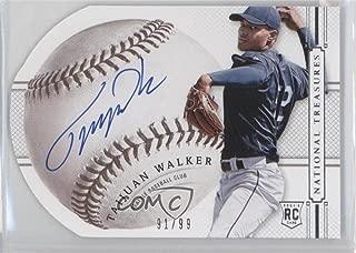 Taijuan Walker #91/99 (Baseball Card) 2014 Panini National Treasures - Baseball Signature Die-Cuts #88