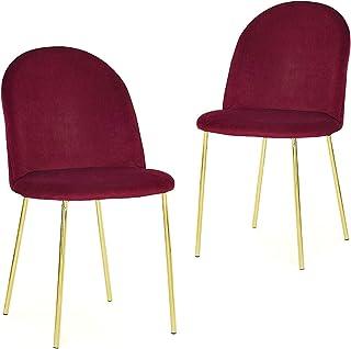 Mobilier decoración sillas, Rojo, único