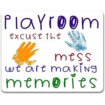 Please excuse the mess personalised name/'s are making memories Bedroom//Nursery!!