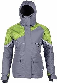 Striker Ice Womens Prism Jacket, Green/Grey, Size 14