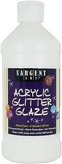 Sargent Art 22-8811 16-Ounce Acrylic Glitter Glaze