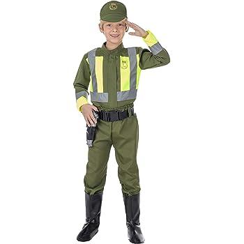 Disfraz de Guardia Civil para niño: Amazon.es: Juguetes y juegos