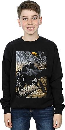 DC Comics Niños Batman Night Gotham City Camisa De Entrenamiento