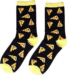 calcetín Calcetines Unisex Divertidos Cute Cartoon Fruit Banana Lemon Egg Donut Food Happy Harajuku Hip Hop Cotton Men's Socks