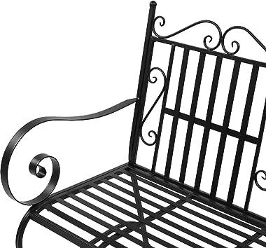 ZJYSM1018 Iron Bivalent Sofa Chair Black