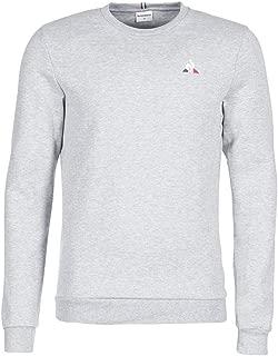Le Coq Sportif Essential Crew Sweat Shirts for Men - gris chiné clair M (32229)