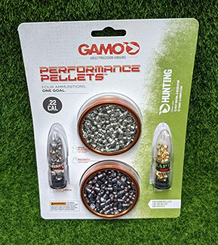 Gamo Combo Pack Performance .22 Cal Hunting Pellets