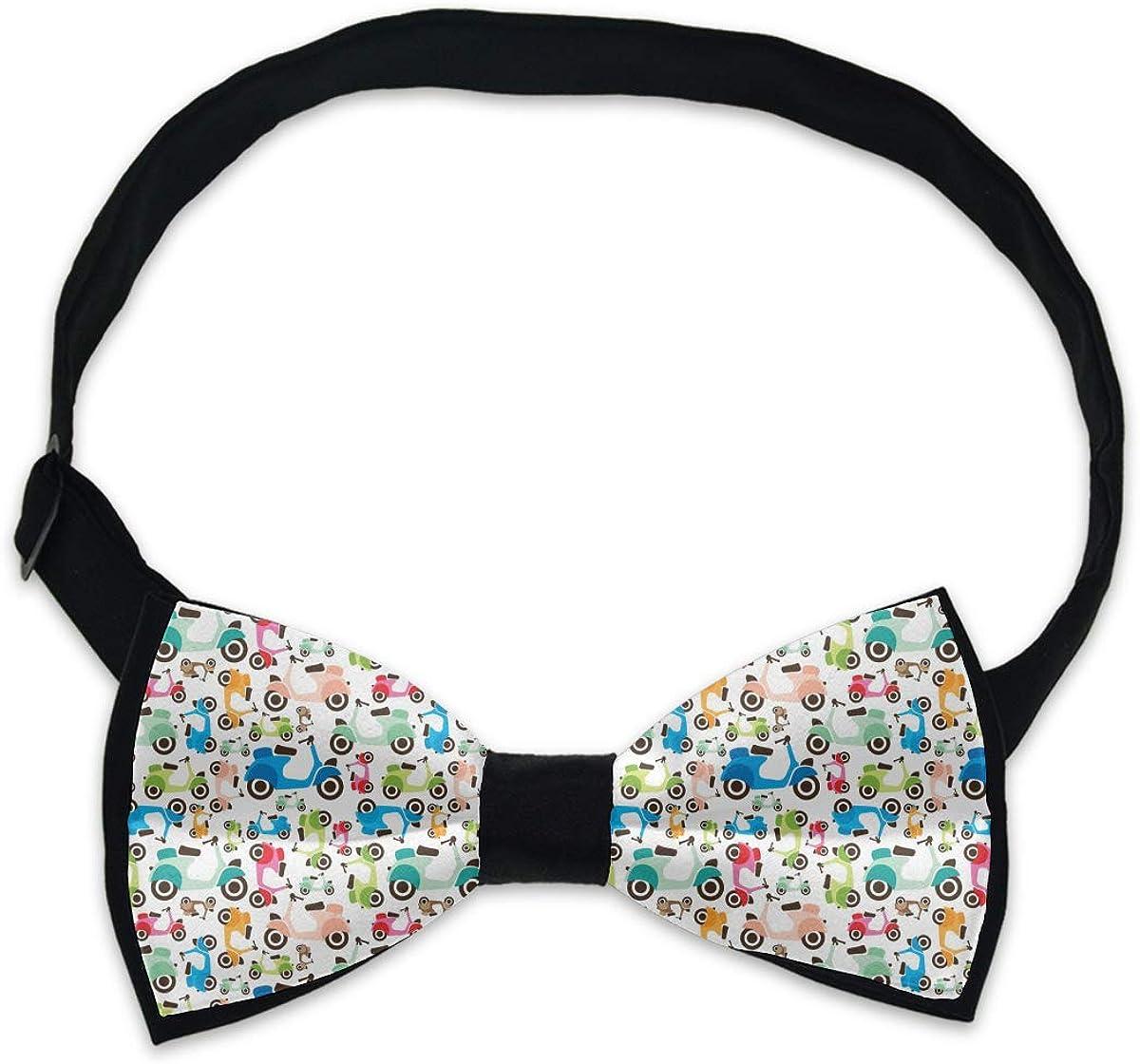 Men's Adjustable Bowties, Cravat Ties, Date Bow Tie - Wedding Party Concert Tie