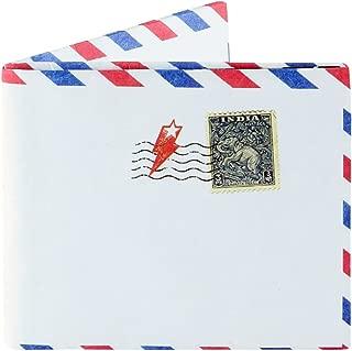 Supervek Unisex Tyvek Paper Mail Design Wallet (White)