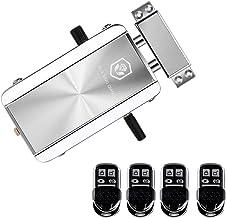 OWSOO Deurslotskit afstandsbediening Keyless Entry Elektronisch slot, Smart Wireless anti-diefstal Deadbolt Toegangscontro...