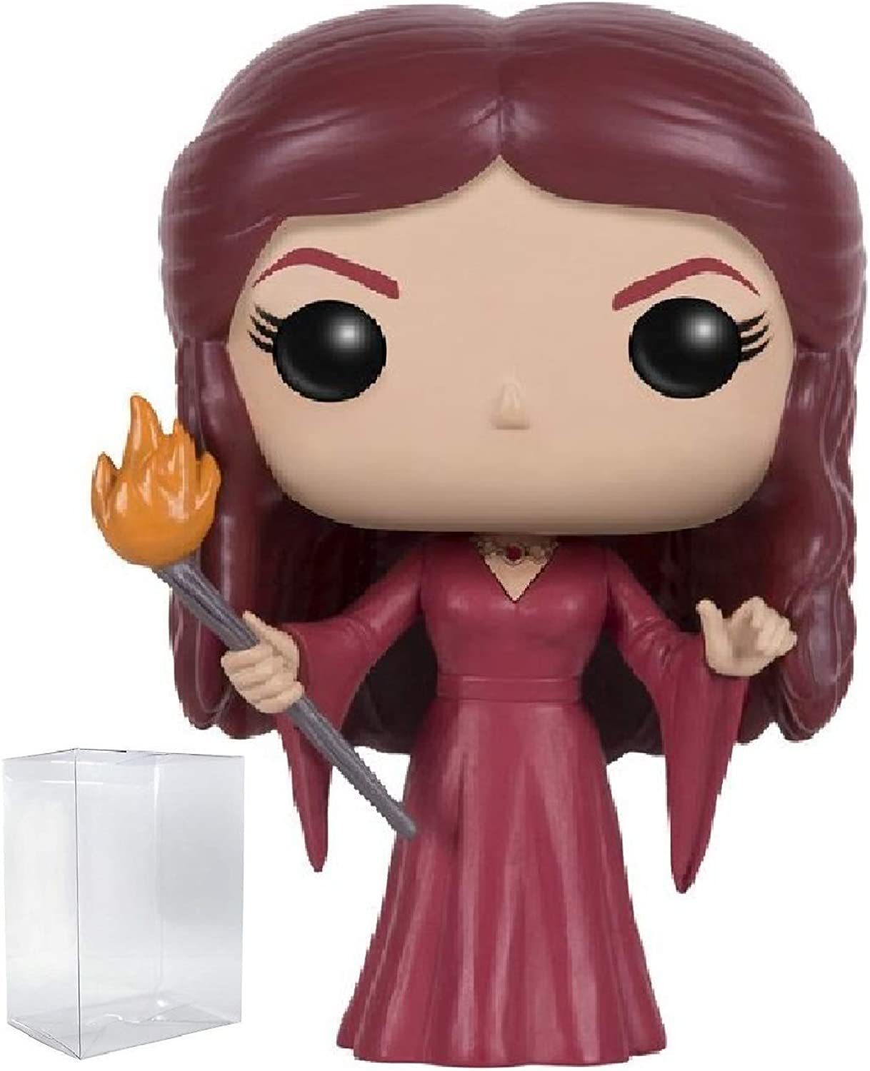 Game of Thrones  Melisandre Funko Pop  Vinyl Figure (Includes Compatible Pop Box Predector Case)
